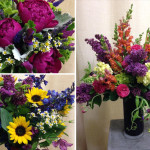 Summer Wedding Flowers – Holland & Kevin