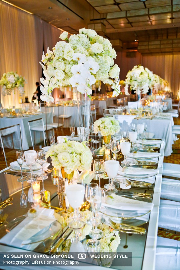 Spring Wedding @ Intercontinental Boston As Featured In Grace Ormonde