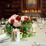 New England Winter Wedding Flowers At Hampshire House