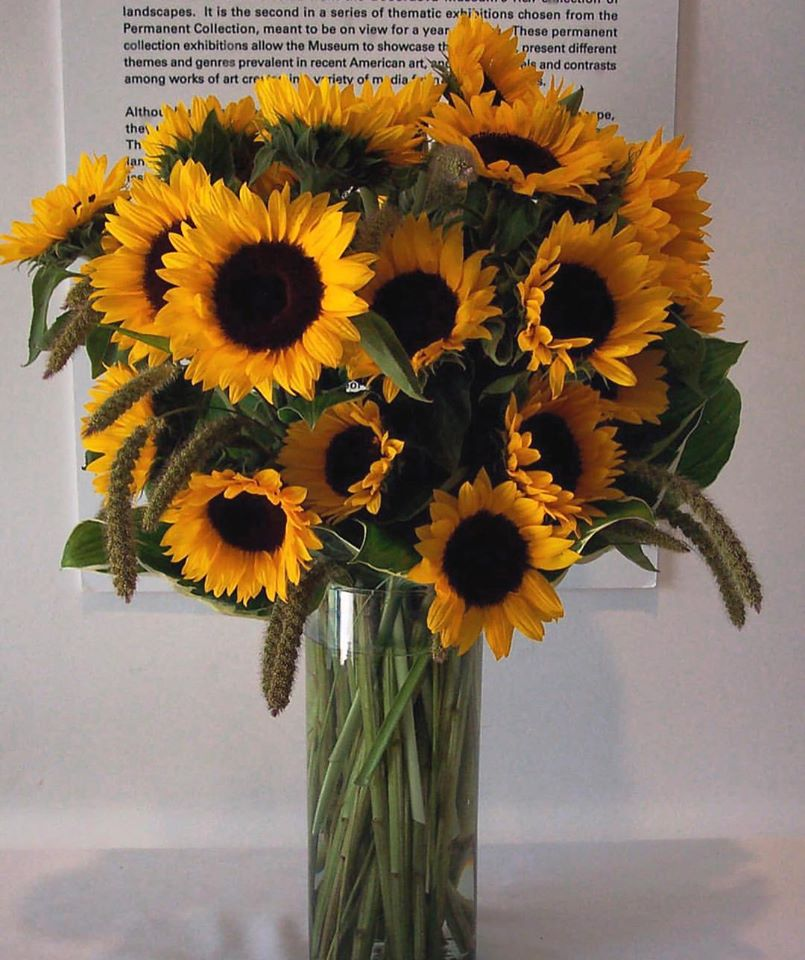 sunflower-summer-floral-arrangement-boston