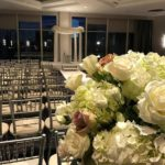 New Years Winter Wedding Flowers – Royal Sonesta Hotel