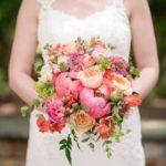 Blushing Peony Spring Bridal Bouquet