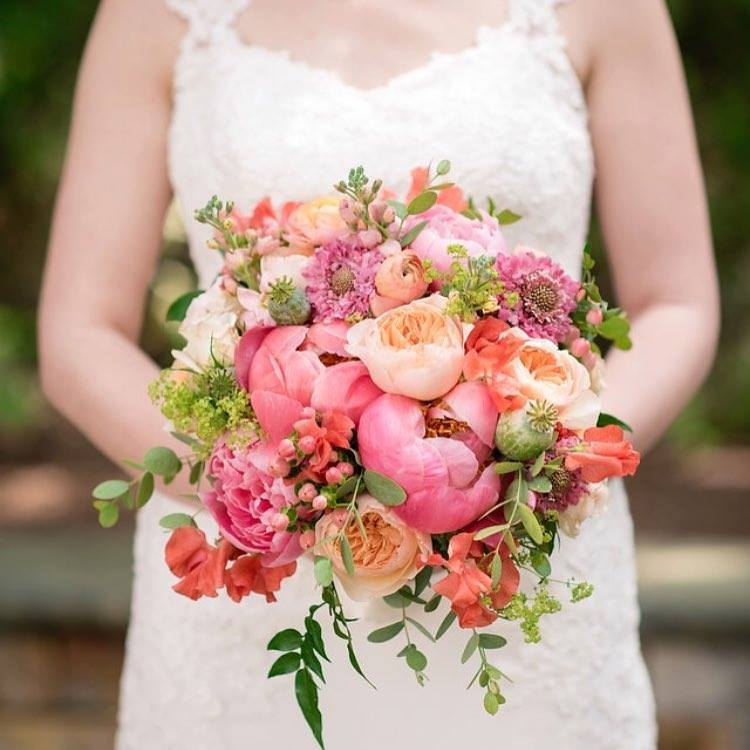 Doubletree Bedford Glen Spring Wedding Flowers