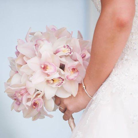 Cymbidium Orchid Bridal Bouquet Jeri Solomon Floral Design