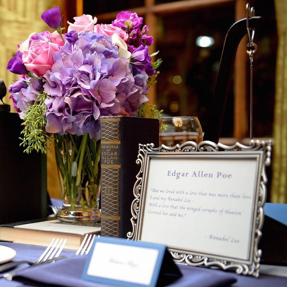 Book Inspired Boston Wedding Flowers