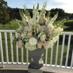 Romantic Fall Wedding Flowers at the Brae Burn Country Club