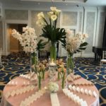 Romantic Fall Wedding Flowers at the Boston Harbor Hotel
