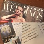 Feature In Modern Luxury Weddings Boston