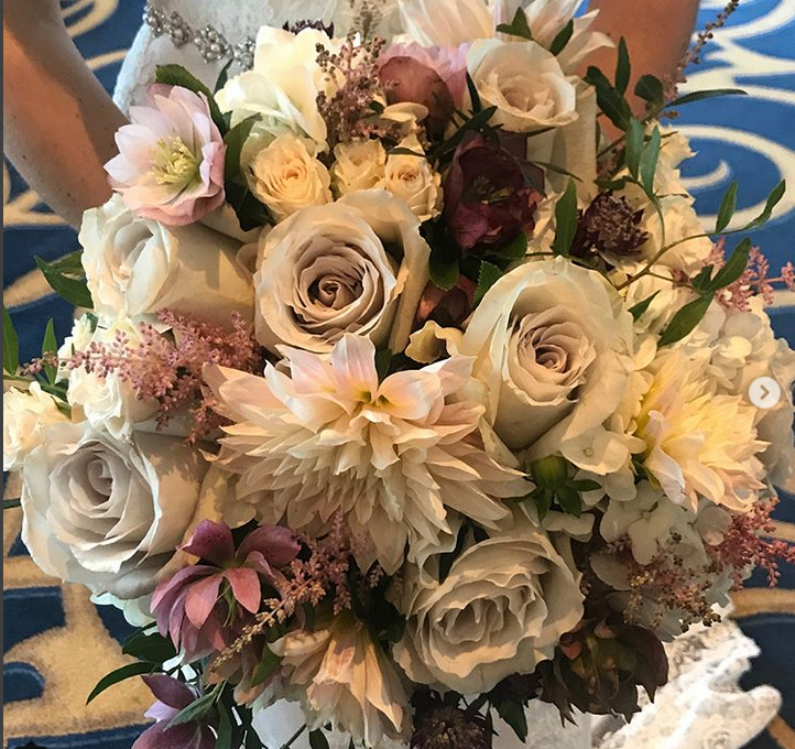 Fall Wedding Bridal Bouquet Boston