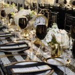 Tupper Manor New Year's Eve Wedding Flowers