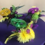 Mardi Gras Custom Floral Arrangements
