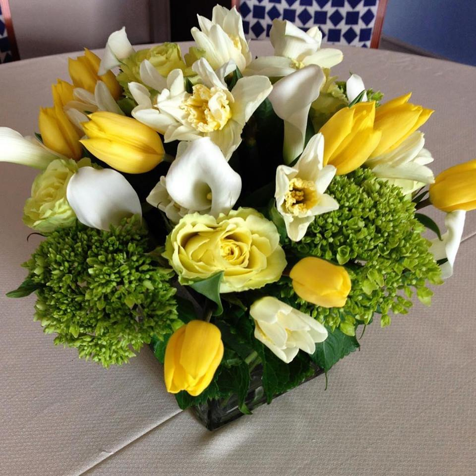 Custom Spring Floral Arrangement