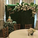 The College Club of Boston Baby Shower Flowers