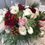 Christmas Wedding Floral Centerpieces